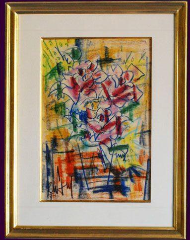 Bouquet Framed