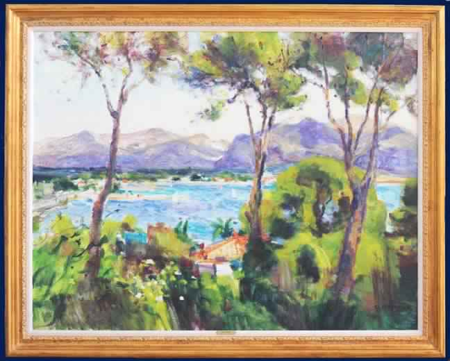 Saint Tropez Framed