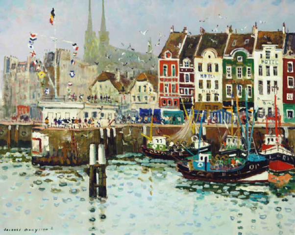 Le Port d'Ostende