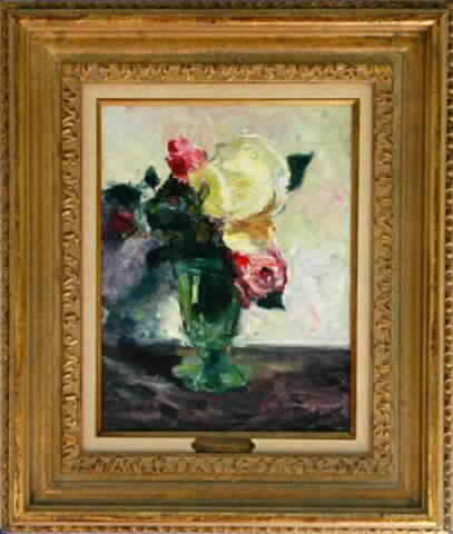 Les Roses Framed