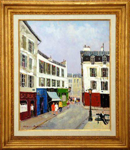 Paris - Montmartre Framed