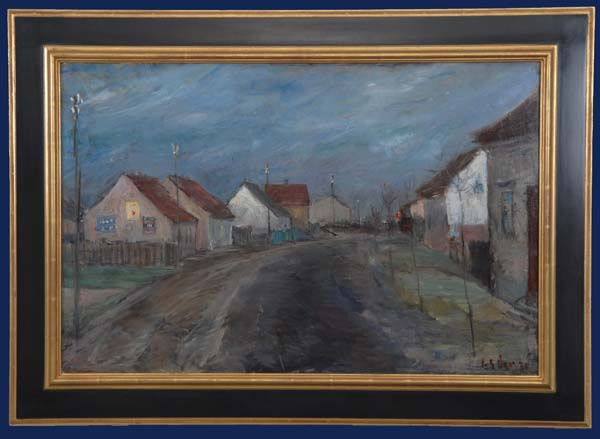 Dorf bei Brendenburg - 1928 Framed