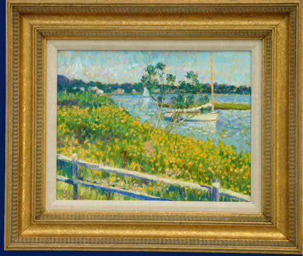 Wild Flowers, Bass River Framed