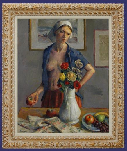 Flowers for Jennifer Framed