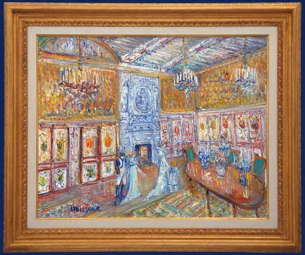 Apartments des Souverins a Fontainebleue Framed