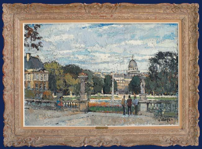 Le Jardin du Luxembourg Framed