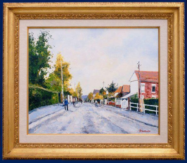 Rue Robert Antoine Pinchon Framed