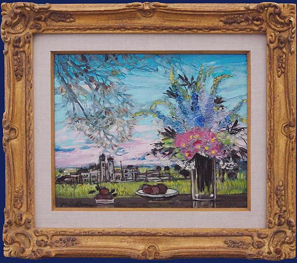 Printempts (Spring Flowers) Framed