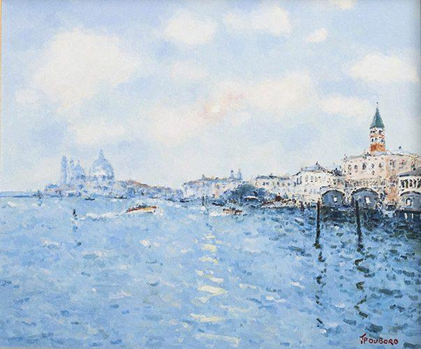Coucher de Soleil sur Venice (sold)