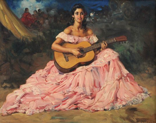 Gypsy Guitariste