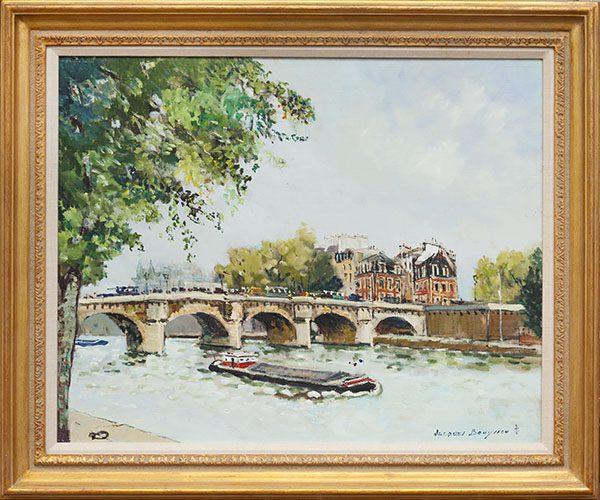 le Pont Neuf Framed