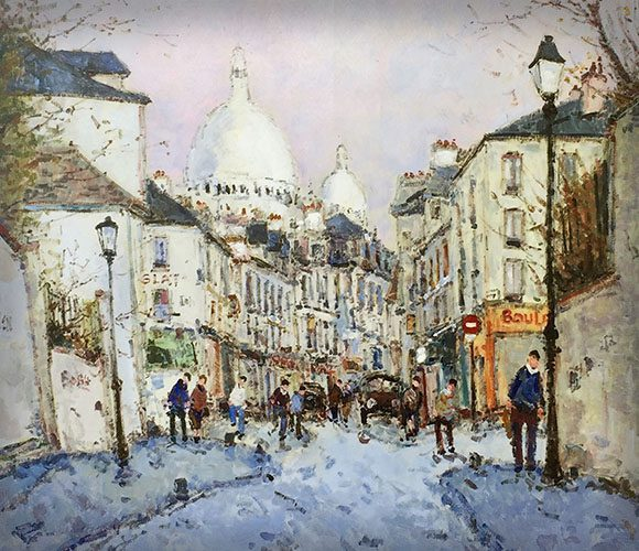 Rue Norvin a Montmartre