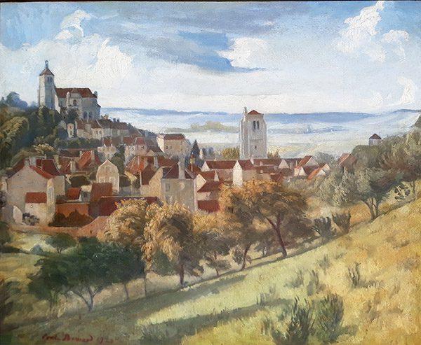 Paysage de Tonnere (sold)