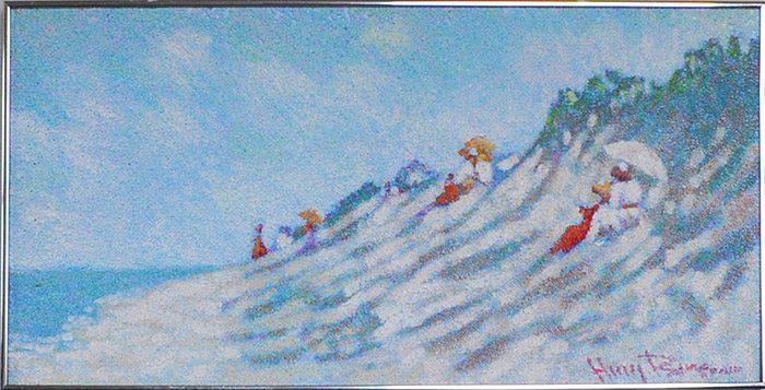 Sand Dunes Framed