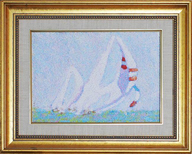 Sail Boats Framed