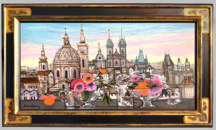 Prague : la ville aux cent clochers Framed