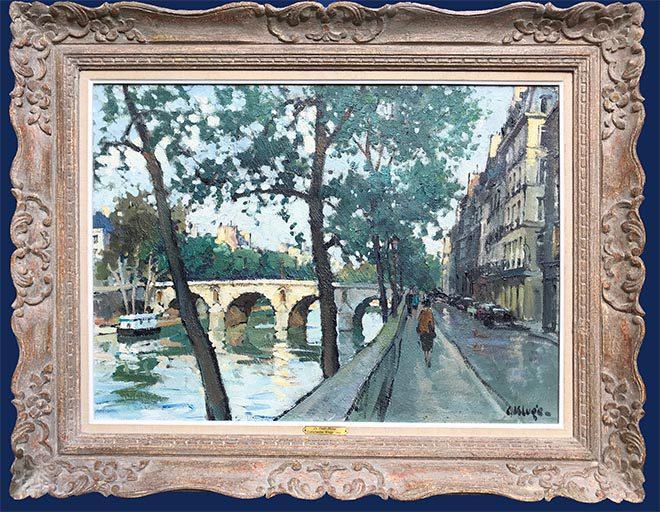 Le Pont Marie Framed