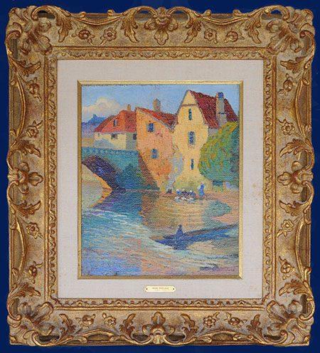 Seine River Framed