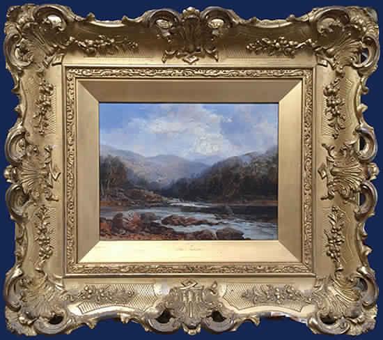 Landscape Framed