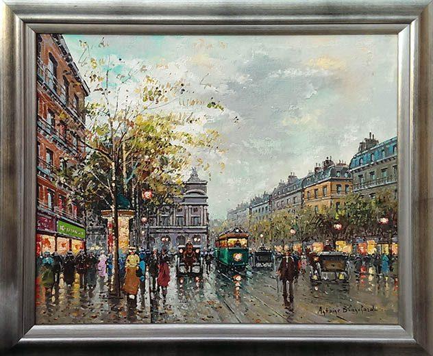 L'Avenue de l'Opera Framed
