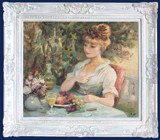 Le dessert de Claudine (au Jardin)