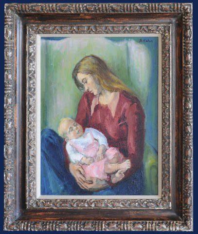 Maternity Framed