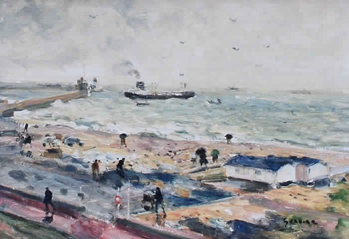 Pluie au Havre