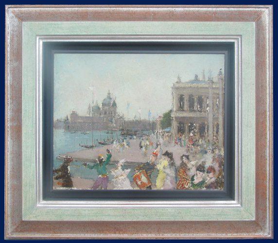 Carnival in Venice Framed