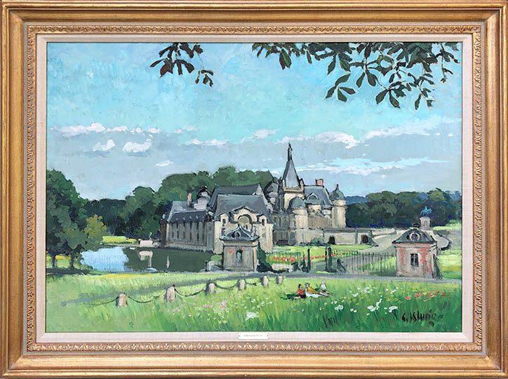 Chantilly Framed