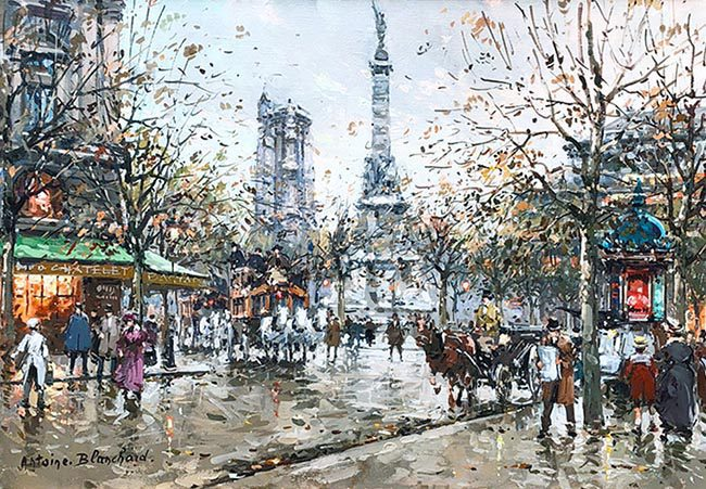 Place du Chatelet Tour St. Jacques