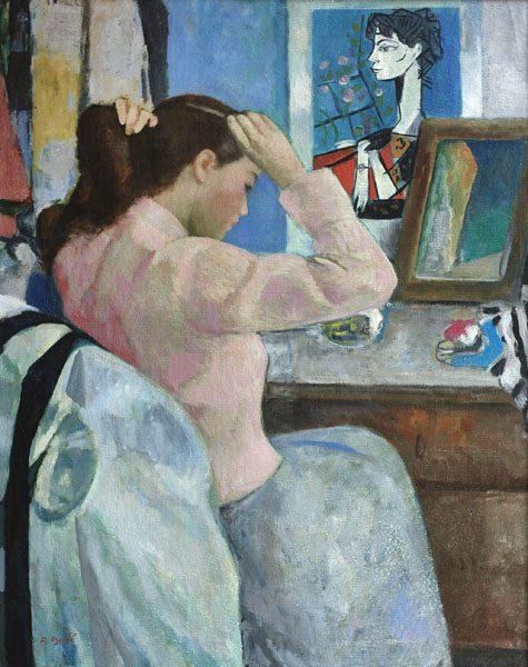 Le Jeune Femme et Picasso
