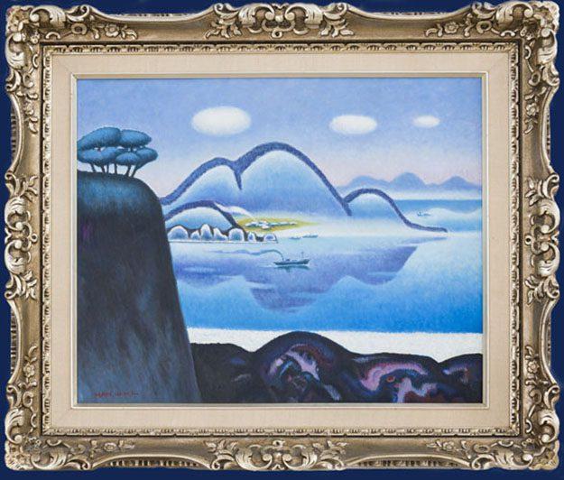 Seascape Framed