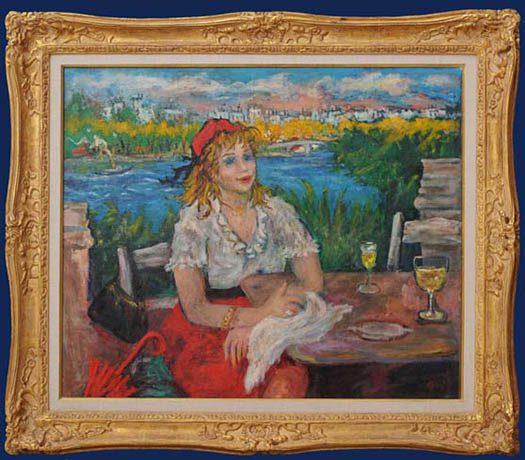 An American in Paris Framed