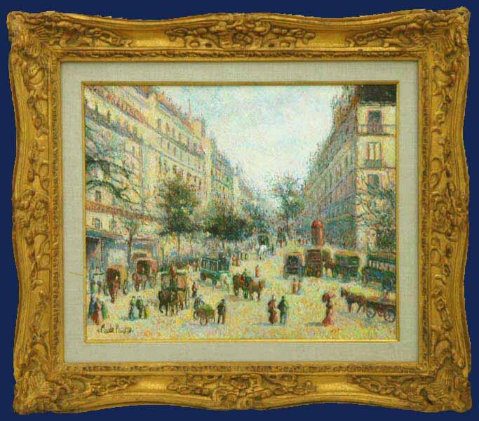 Paris en 1900 Framed