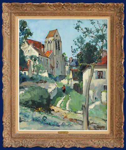 L'Eglise a Borest Framed