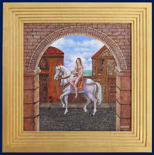 Lady Godiva II Framed