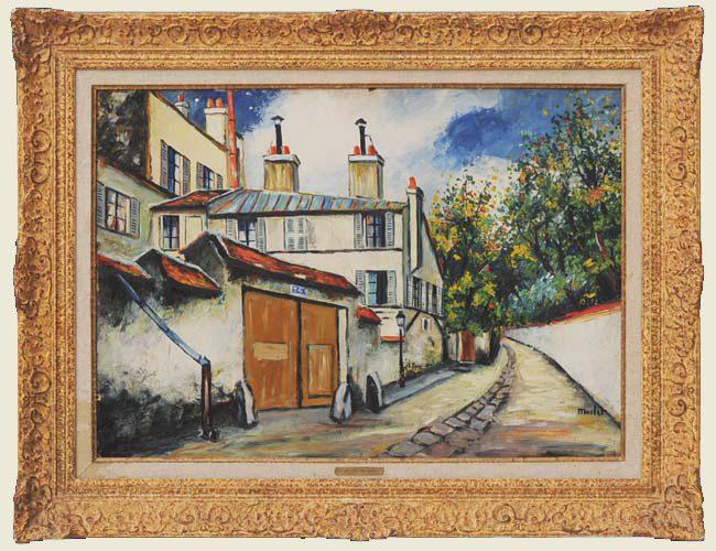 Rue Breton a Montmartre