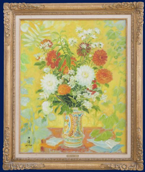 Bouquet of flwers Framed