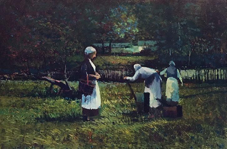 Three Women in the Field