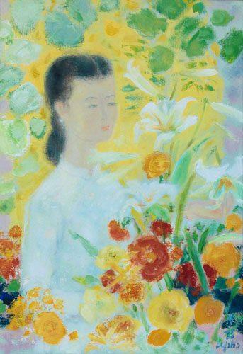 La Fille au Bouquet