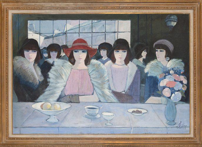 Las Femmes Esperantes Framed