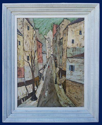 La Rue Framed