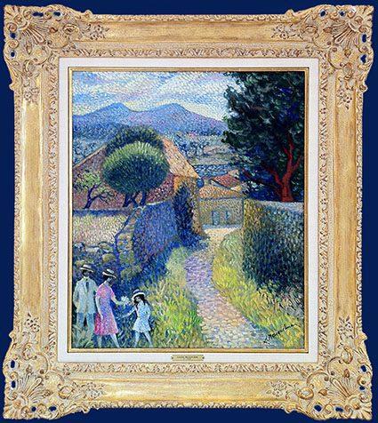 Les Baux de Provence Framed