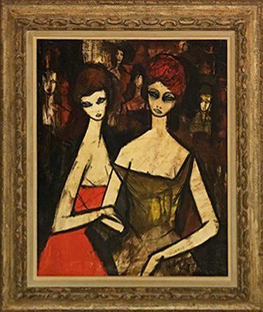 Deux Femmes Framed