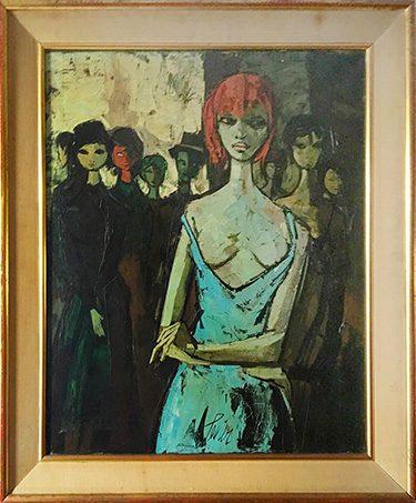 La Femme Framed