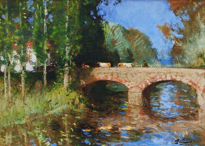 Pont sur la Riviere