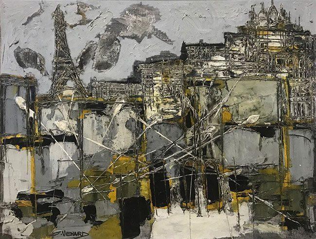 Sacre Coeur et Tour Eiffel (sold)