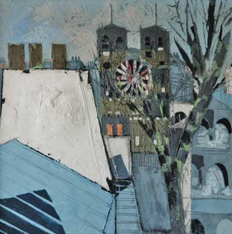 Notre Dame et Seine (sold)
