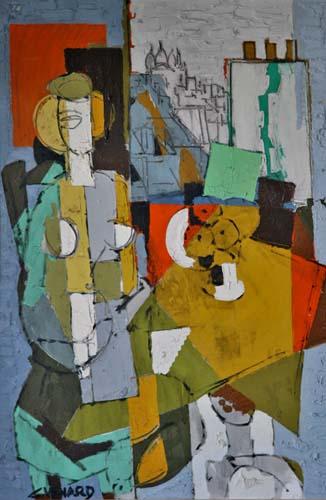 Woman in Montmartre (sold)