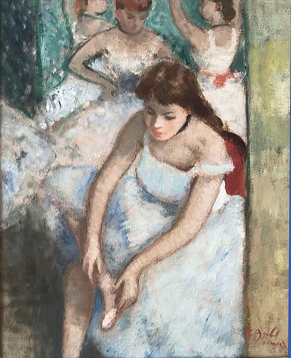 Ballerinas -(sold)